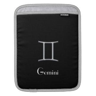 占星術のな印ジェミニか模造のなクロム iPadスリーブ