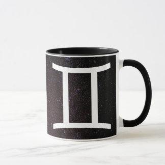 占星術のジェミニ印の記号のコーヒー・マグ マグカップ