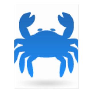 占星術の蟹座 ポストカード