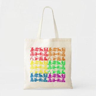 (占星術の)十二宮図のシンボルや象徴 トートバッグ