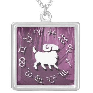 (占星術の)十二宮図のネックレス-牡羊座 ジュエリー