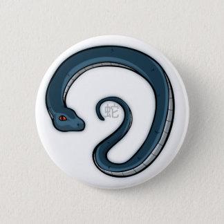 (占星術の)十二宮図のヘビのバッジ 缶バッジ