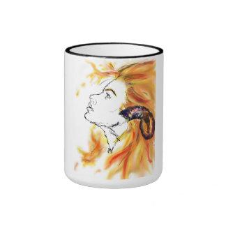 (占星術の)十二宮図のマグ リンガーマグカップ