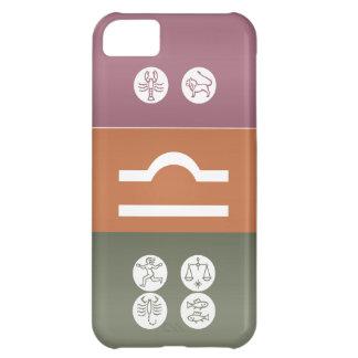 (占星術の)十二宮図の占星術の記号: BirthStar Goodluckのチャーム iPhone5Cケース