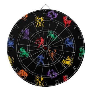 (占星術の)十二宮図の印アイコン ダーツボード