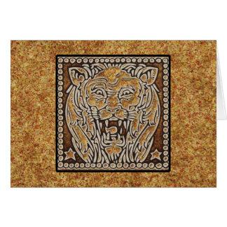 (占星術の)十二宮図の印レオ カード