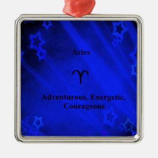 (占星術の)十二宮図の印: 牡羊座 メタルオーナメント