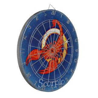 (占星術の)十二宮図の投げ矢板 ダーツボード