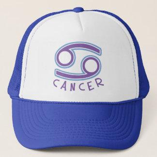 (占星術の)十二宮図の蟹座のトラック運転手の帽子 キャップ