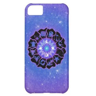 (占星術の)十二宮図の車輪のiPhone 5の場合 iPhone5Cケース