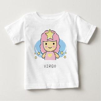 (占星術の)十二宮図の《星座》乙女座 ベビーTシャツ
