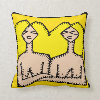 (占星術の)十二宮図はジェミニ誕生日の枕に署名します クッション