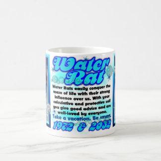 (占星術の)十二宮図水ラットのコップ1972 2032年 コーヒーマグカップ