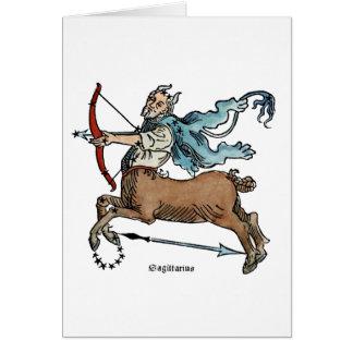 (占星術の)十二宮図: 射手座 カード