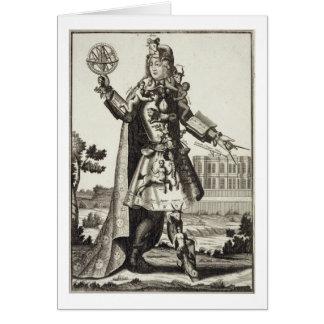 占星術師のための衣裳、パブ。 Gerard Valck (1著 カード
