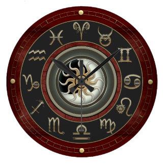 占星術 ラージ壁時計