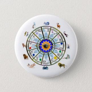 占星術-黄道帯のシンボルや象徴 缶バッジ