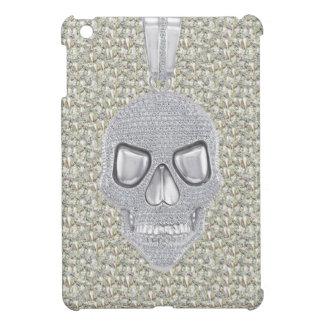 印刷されたゴシック様式スカルのダイヤモンドのオーナメント iPad MINI カバー
