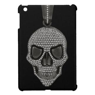 印刷されたゴシック様式スカルのダイヤモンドのオーナメント iPad MINI CASE