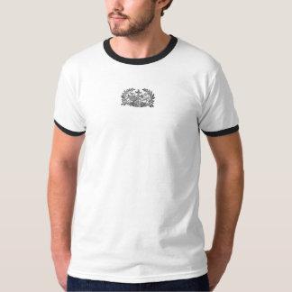印刷されるフランシスコ会のロゴ-頂上- Tシャツ
