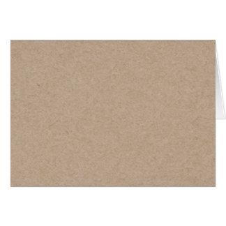 印刷されるブラウンクラフト紙の背景 カード
