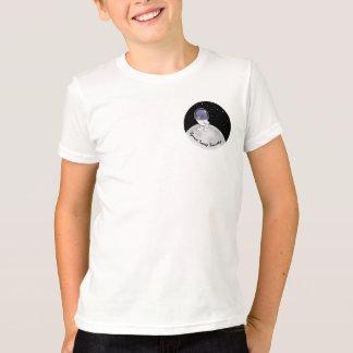 印刷される宇宙のTweepの子供のスクリーン Tシャツ