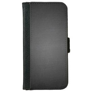 印刷される素朴で黒い黒板 iPhone 6/6S ウォレットケース