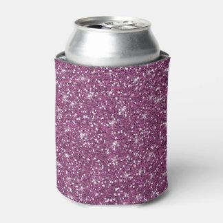 印刷される紫色のグリッター 缶クーラー