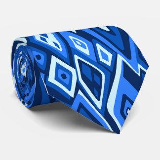 印刷される遠いレトロの抽象的な独身の側 ネクタイ