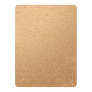 印刷される青銅色ホイル カード