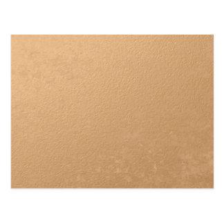 印刷される青銅色ホイル ポストカード