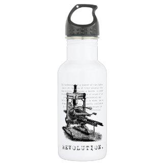 印刷機=改革! ウォーターボトル
