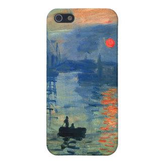 印象の日の出、Soleil Levant、クロード・モネ iPhone 5 ケース