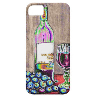 印象主義のワインおよびブドウの芸術 iPhone SE/5/5s ケース