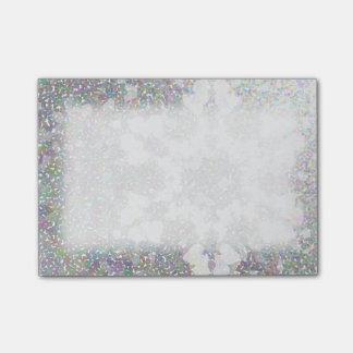 印象主義の雪片 ポストイット