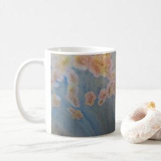 印象派の水晶艶出しのマグ コーヒーマグカップ