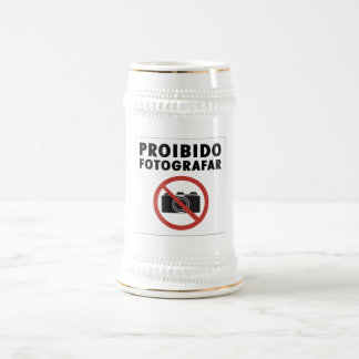 印、ブラジルを与えられる写真無し ビールジョッキ