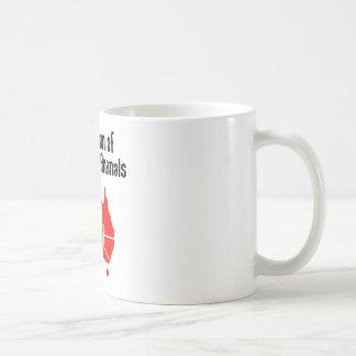 危ない動物の連合 コーヒーマグカップ