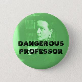-危ない教授緑のSimone 5.7cm 丸型バッジ