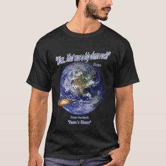 危機一髪の空想科学小説のTシャツ Tシャツ