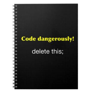 危険なほどにコード ノートブック