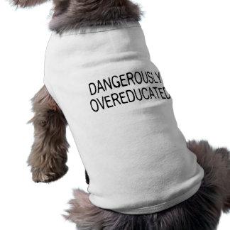 危険なほどにOvereducated ペット服