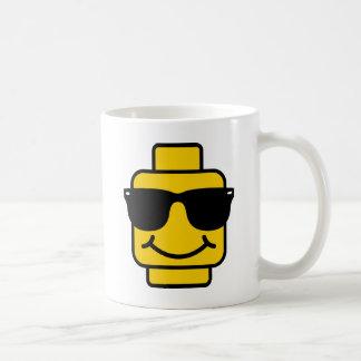 危険なビジネス煉瓦頭部 コーヒーマグカップ