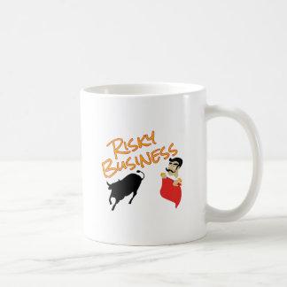 危険なビジネス コーヒーマグカップ