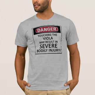 危険のビオラ Tシャツ