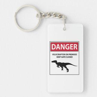 危険の印(猛禽) キーホルダー