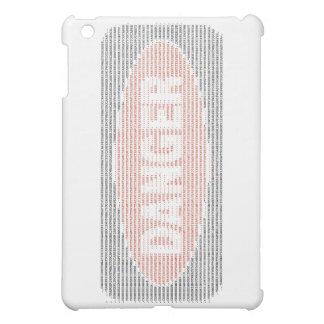 危険の印ASCIIの芸術 iPad MINIカバー