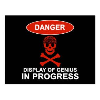 危険の天才 ポストカード