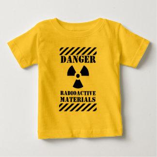 危険の放射性物質おもしろいなハロウィン ベビーTシャツ