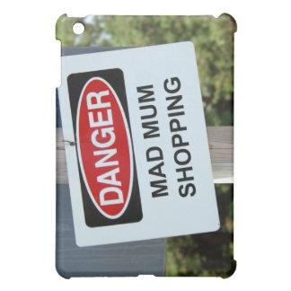 危険の気違いのミイラのショッピングの印 iPad MINI CASE